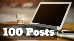 Blogging Challenge: 100 Posts 100 Days