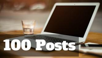 Blogging Challenge: 100 Posts 100 Days